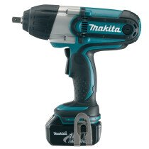 "Makita DTW450RMJ 18v ½"" LXT Cordless Impact Wrench  with 2 x 4.0Ah Li-ion Batteries (Replaces DTW450RFE)"