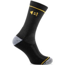Buckbootz ZBSOKZCOOLBK Coolmax Boot Socks Black Pack of 6