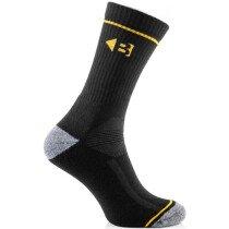 Buckler Boots ZBSOKZCOOLBK Coolmax Boot Socks Black Pack of 6