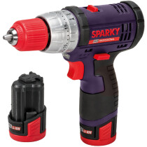Sparky SPKBUR212LIH HD Professional  12V Combi Drill with 2x 2.0Ah Batteries in Case