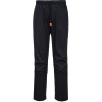 Portwest C073 Lightweight MeshAir Pro Trouser Chefswear - Available in Black or Slate Grey