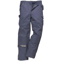 Portwest C703 Combat Work Trousers Multipocket Workwear - Navy Blue - Regular Leg Length