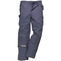 Portwest C703 Combat Work Trousers Multipocket Workwear - Navy Blue - Regular Leg Length