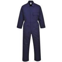 Portwest C802 (Tall Leg) Standard Boilersuit / Coverall - Tall Leg - Available in Black & Navy