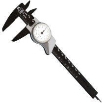 """Moore and Wright CDP150M Plastic Dial Caliper 150mm (6"""")"""