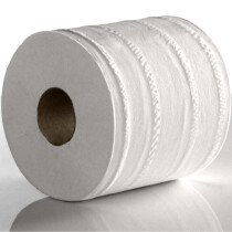 Lawson-HIS WCF300 White Centrefeed 1Ply 300m x 19cm Paper Roll (Pack of 6 Rolls)