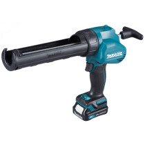Makita CG100DWAEA 10.8v Cordless Caulking Gun CXT with 2 x Batteries, Charger and 300ml Holder NEW!