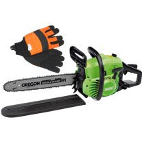 Draper 02567 400mm 37cc 2-Stroke Petrol Chainsaw +FREE GLOVES