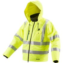Makita CJ106DZ 12v MAX Hi-Vis Heated Jacket