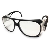 JSP Iles PN2-4CL-BK-B&H01 Pioneer 2000 Clear Lens Black Frame Safety Spectacle