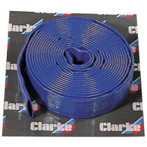 "Clarke 7955112 5m x 1"" (25mm) Diameter Layflat Delivery Hose"