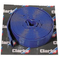 "Clarke 7955150 10m x 1.1/4"" (32mm) Diameter Layflat Delivery Hose"