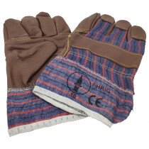Lawson-HIS 1042 Brown Furniture Hide Rigger Gloves