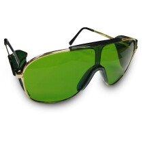 JSP ILES 'Durban' Green Tinted Anti-Glare Safety Spectacle
