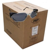 JSP ASA290026100 (Carton of 300prs) Stealth 2102 UV400 Safety Spectacles