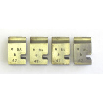 """Lawson-HIS CLTA036 8BA Coventry Die Chaser Set for 3/8"""" Head (set of 4)"""