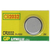 JSP GP-Lithium CR2032 Coin Button Battery