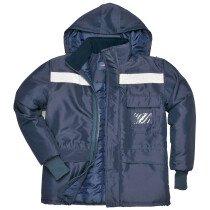 Portwest CS10 Cold Store Rainwear Jacket - Navy Blue