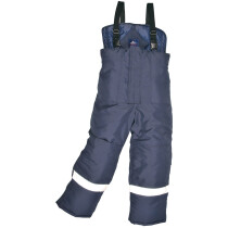 Portwest CS11 Cold Store Rainwear Trousers - Navy Blue