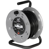SMJ CTH2513 25Mtr 240v 13amp Cable Reel 4 Sockets