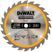 DeWalt DT1947-QZ 136x10mm 24T Circular Trimsaw Blade(Fits DW935/936K2)
