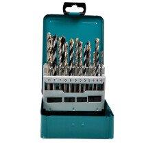Makita D-47173  18 Piece Mixed Drill Bit Set in Metal Case