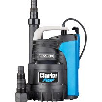 "Clarke PSP195 1¼"" 600W 195Lpm 9m Head Puddle Pump with Float Switch 230V 7239240"