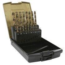 Dart CHSSSET19 19 Piece HSS Cobalt Drill Set 1-10mm