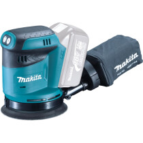 Makita DBO180Z Body Only 18v LXT 125mm Random Orbit Sander
