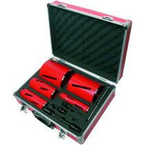Dart DB00880 Dry Diamond Core Drill Kit (9 piece)