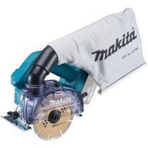 Makita DCC500Z 18v Body Only 125mm Dustless Disc Cutter BL