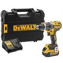 DeWalt DCD796P1 18V XR Brushless Combi Drill with 1x 5.0Ah Battery in TSTAK Carry Case