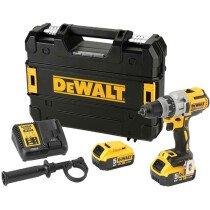 DeWalt DCD991P2 18V XR Brushless 3-Speed Drill/Driver with 2x 5.0Ah Batteries in TSTAK Case