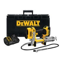 Dewalt DCGG571M1-GB 18v Grease Gun with 1x4Ah Battery in HD Kitbox