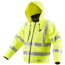 Makita DCJ206Z 14.4/18v Hi-Vis Heated Jacket