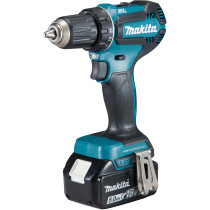 Makita DDF485RTJ 18V Brushless Drill/Driver with 2x 5.0Ah Batteries in MakPac Case