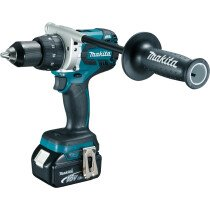 Makita DDF481RMJ 18V Brushless Drill/Driver with 2x 4.0Ah Batteries in MakPac Case