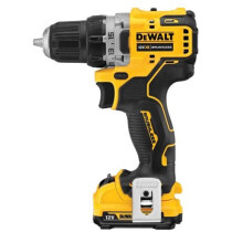 DeWalt DCD701D2 12V XR Brushless Sub-Compact Drill/Driver with 2x 2.0Ah Batteries in TSTAK Case