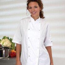 Denny DD08S Chefs Short Sleeve Jkt White DDO8S