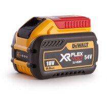Dewalt DCB547 18V/54V XR Flexvolt 9.0Ah Battery Compatible with 54v XR Flexvolt and 18v XR Li-ion Tools