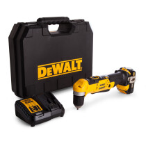 DeWalt DCD740C1 18v XR Li-ion Angle Drill with 1 x 1.5Ah XR Battery in Kitbox