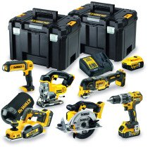 Dewalt DCK665P3T-GB 18V Li-ion 6 Piece Kit with 3x 5.0Ah Batteries in TSTACK Cases