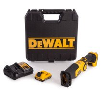 DeWalt DCS310D2 10.8v Li-ion Mini Reciprocating Saw with 2 x 2Ah Batteries in Kitbox