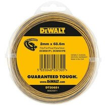 DeWalt DT20651-QZ Trimmer Line Refill 68mtr x 2mm Suitable For DCN561P1, DCB561PB and DCB561N Trimmers
