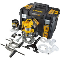 "DeWalt DCW604NT-XJ Body Only 18v XR Brushless 1/4""/8mm Router/Trimmer in Tstack Case"