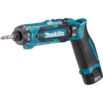 Makita DF012DSE 7.2v Pencil Drill / Driver with 2 Batteries