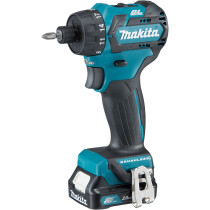 Makita DF032DSAJ 10.8v Brushless Drill Driver CXT with 2x Batteries, Charger & Case