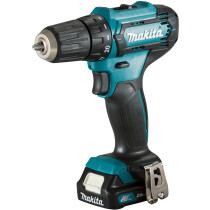 Makita DF333DWAE 12VDrill Driver CXT with 2x 2.0Ah Batteries in Case