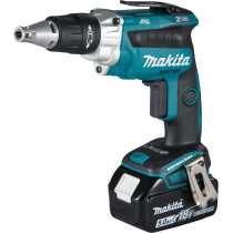 Makita DFS250RTJ 18v Li-ion LXT Brushless Drywall Screwdriver with 2 Batteries