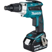 Makita DFS251RTJ 18v LXT Brushless Tek Screwdriver with 2 Batteries